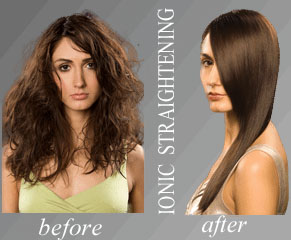 Ionic Hair Straightening Thermal Reconditioning